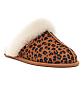 Scuffette II Leopard Slippers
