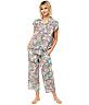 Summer Of Love Luxe Pima Woven Capri Pajama Set