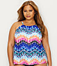 Plus Size Making Waves Underwire Tankini Top