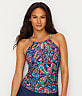 Paisley Fields Underwire Tankini Top