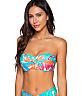 Tropicalia Iconic Twist Bandeau Bikini Top