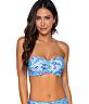 Shore Bird Iconic Twist Bandeau Bikini Top