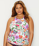 Plus Size Fleetwood Floral Tankini Top
