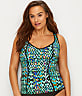 Plus Size Tribal Instinct Tankini Top