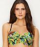 Electro Beach Twist Bandeau Bikini Top