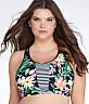 Plus Size Elysian Adley Wire-Free Bikini Top