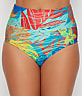 Hot Tropics Fold-Over High-Waist Bikini Bottom
