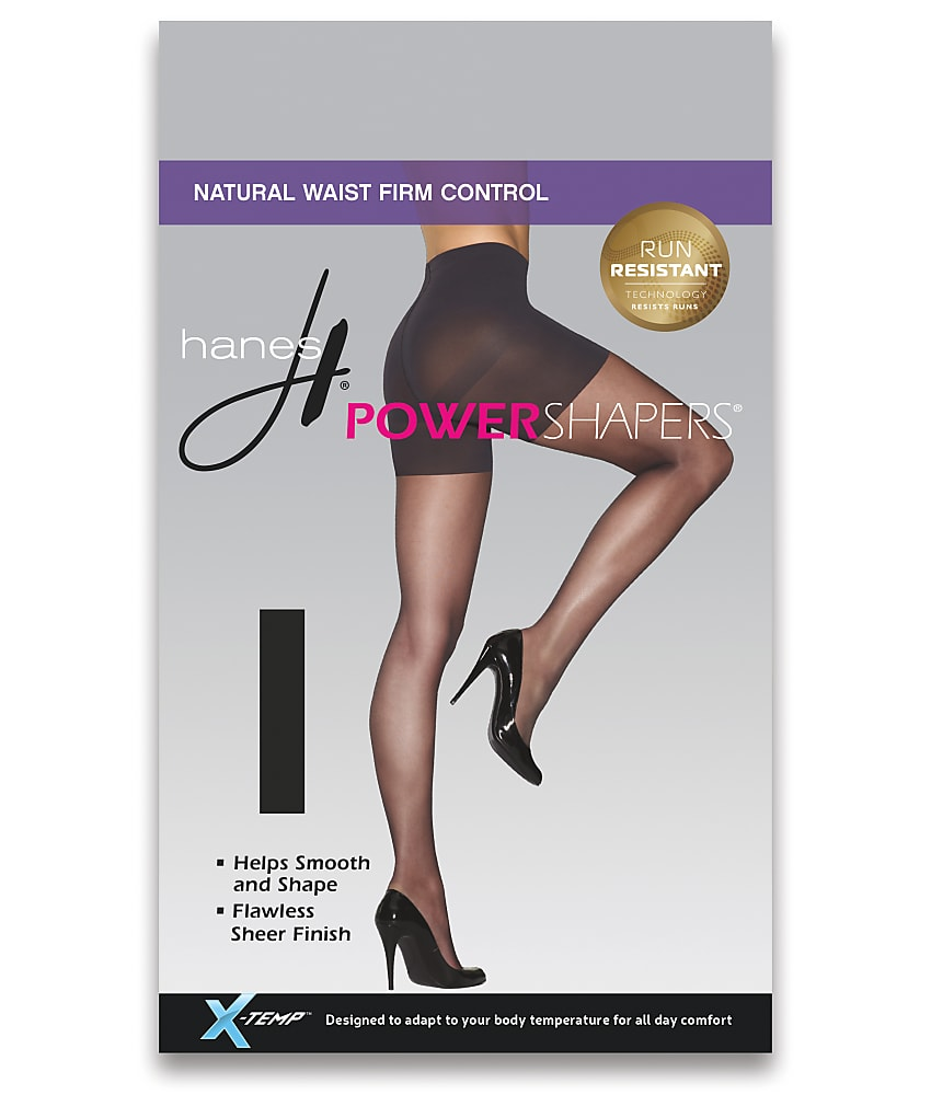Amazoom Hanes Power Shapers Firm Control Pantyhose Hosiery