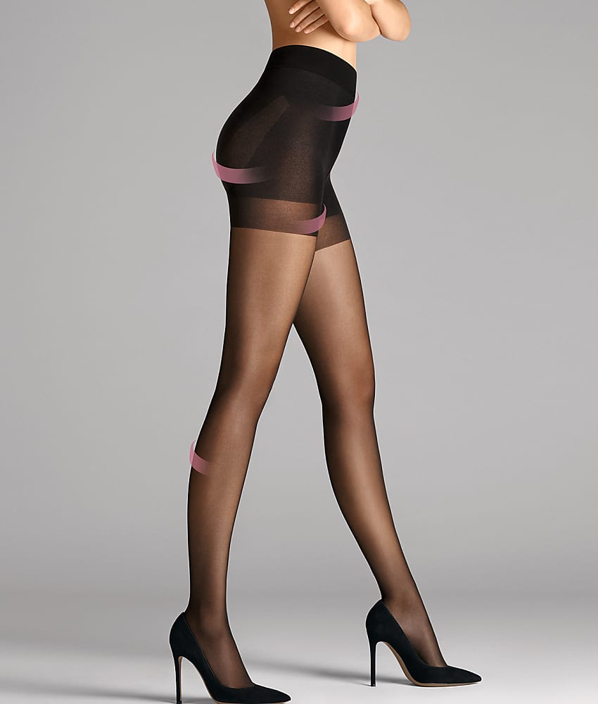 Wolford Pure 30 Denier Complete Support Control Top ...