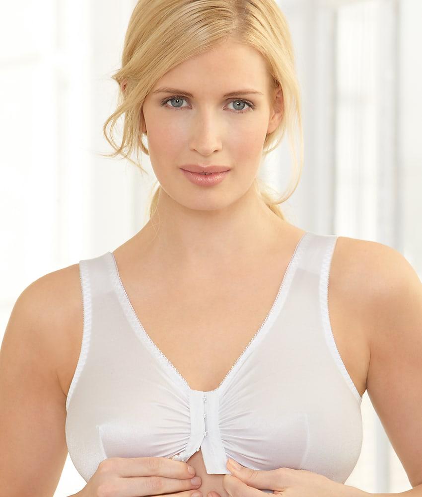 c98e1a6390c98 Glamorise Complete Comfort Front-Close Wire-Free Sleep Bra - Women s ...