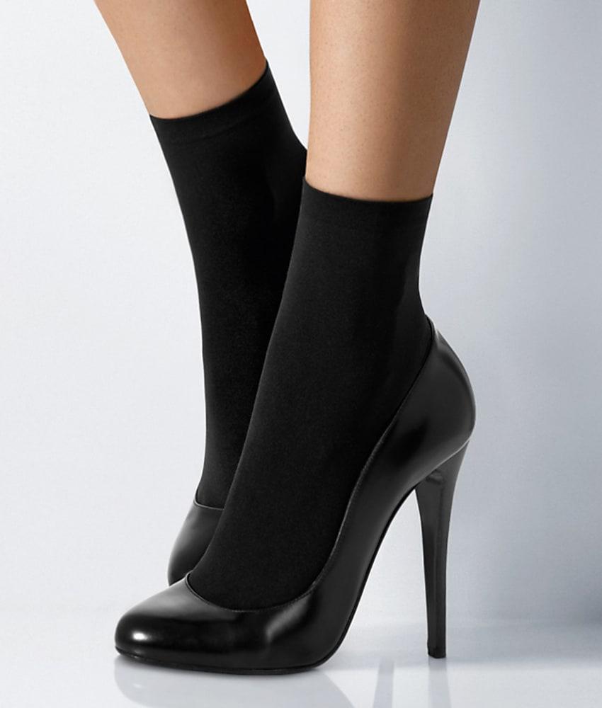 Wolford Velvet 66 Denier Socks Hosiery - Women's
