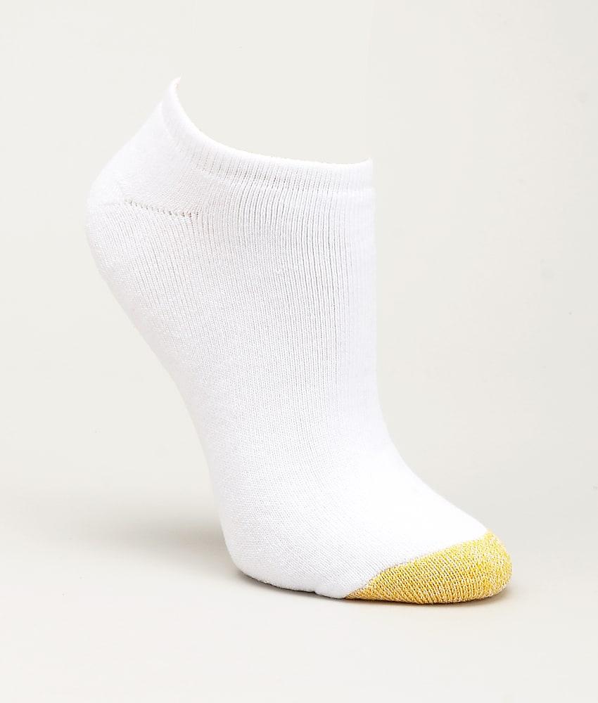 Gold Toe Cushioned Low-Cut Socks 6-Pack Hosiery - Women's ...