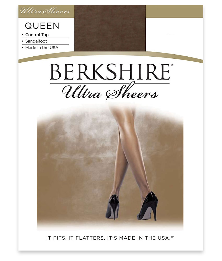 d49554179d7 Berkshire City Beige Queen Ultra Sheer Control Top Pantyhose Size 1x ...