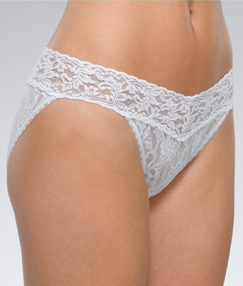 4e1214fb1ffd Hanky Panky 482374 Signature Lace V-kini Panty L White for sale ...