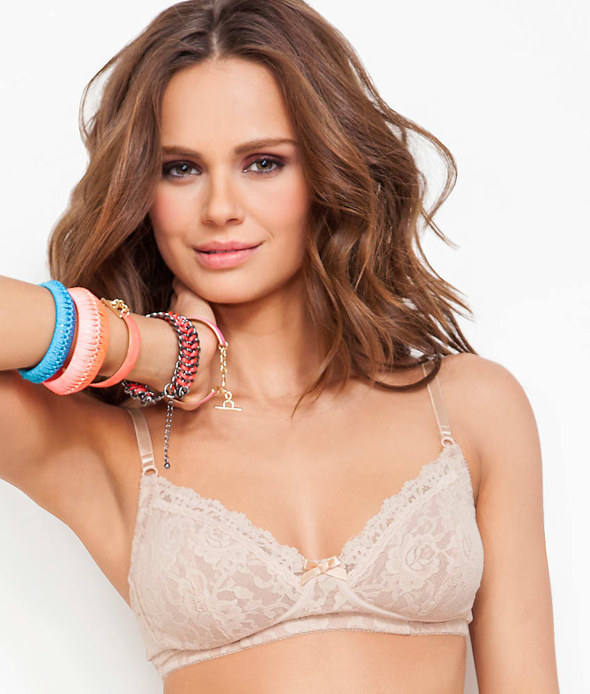 23453a3073 Hanky Panky Signature Lace Glam Wire-Free Bra - Women s