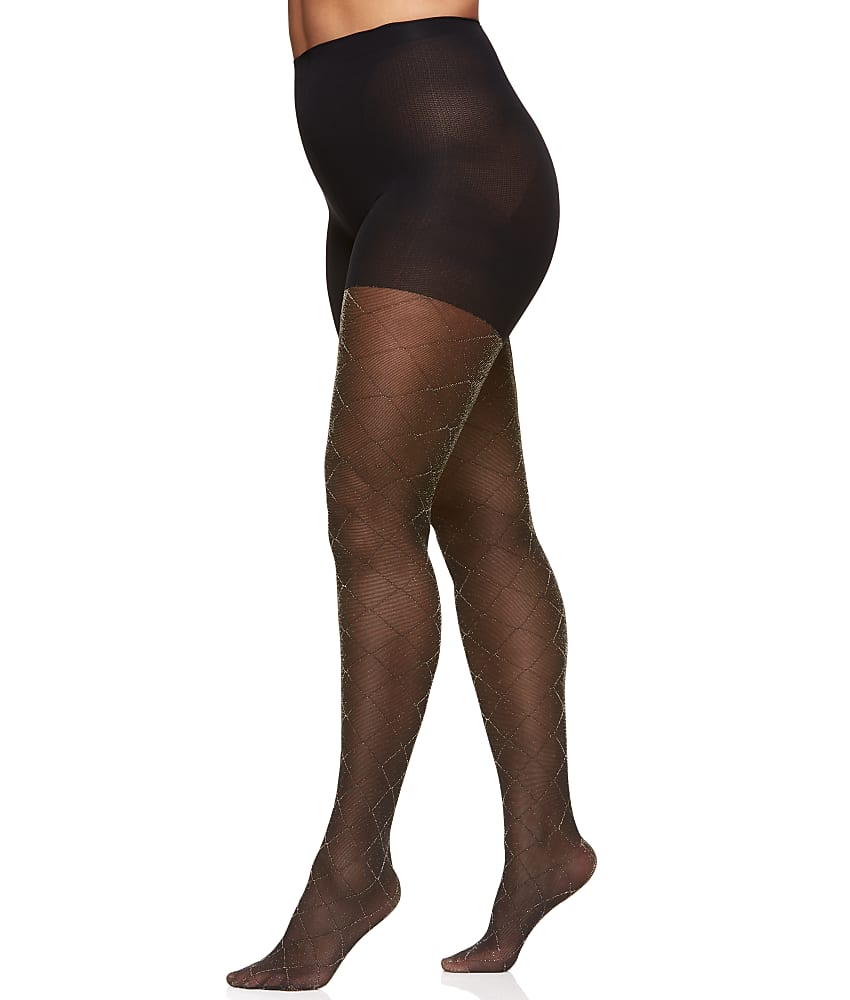 0b87a774c Berkshire Plus Size The Easy On Diamond Control Top Tights Hosiery ...