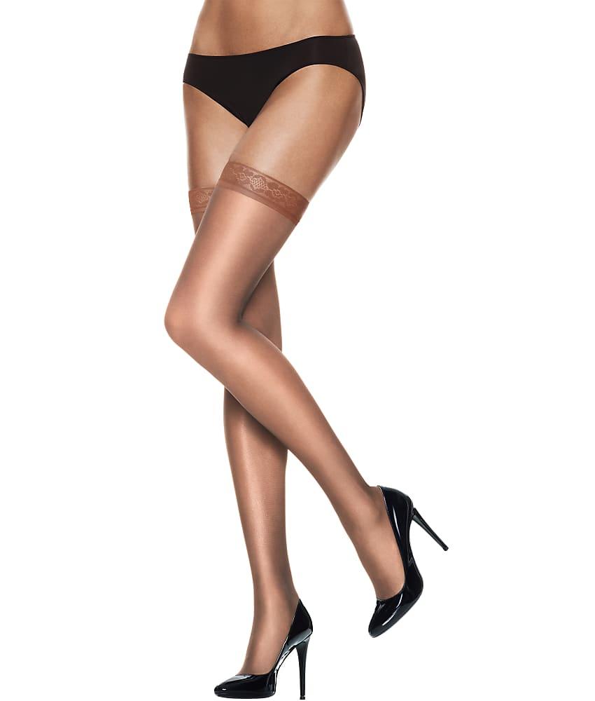 Hanes-Silk-Reflections-Silky-Sheer-Thigh-Highs-Hosiery-Women-039-s thumbnail 13