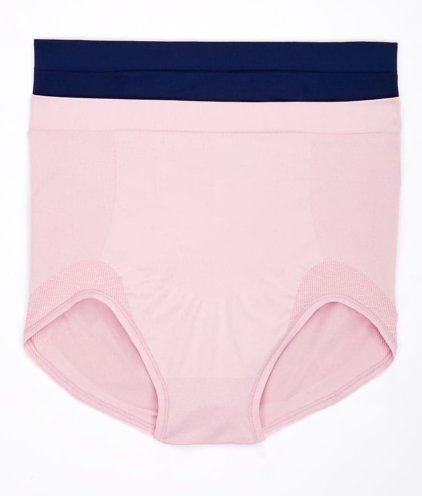 62823cf9073 Bali Comfort Revolution Firm Control Brief 2-Pack Panty, Shapewear ...