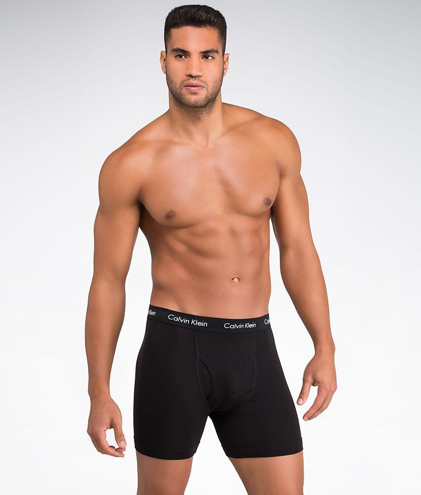 calvin klein cotton stretch boxer brief 3 pack underwear. Black Bedroom Furniture Sets. Home Design Ideas