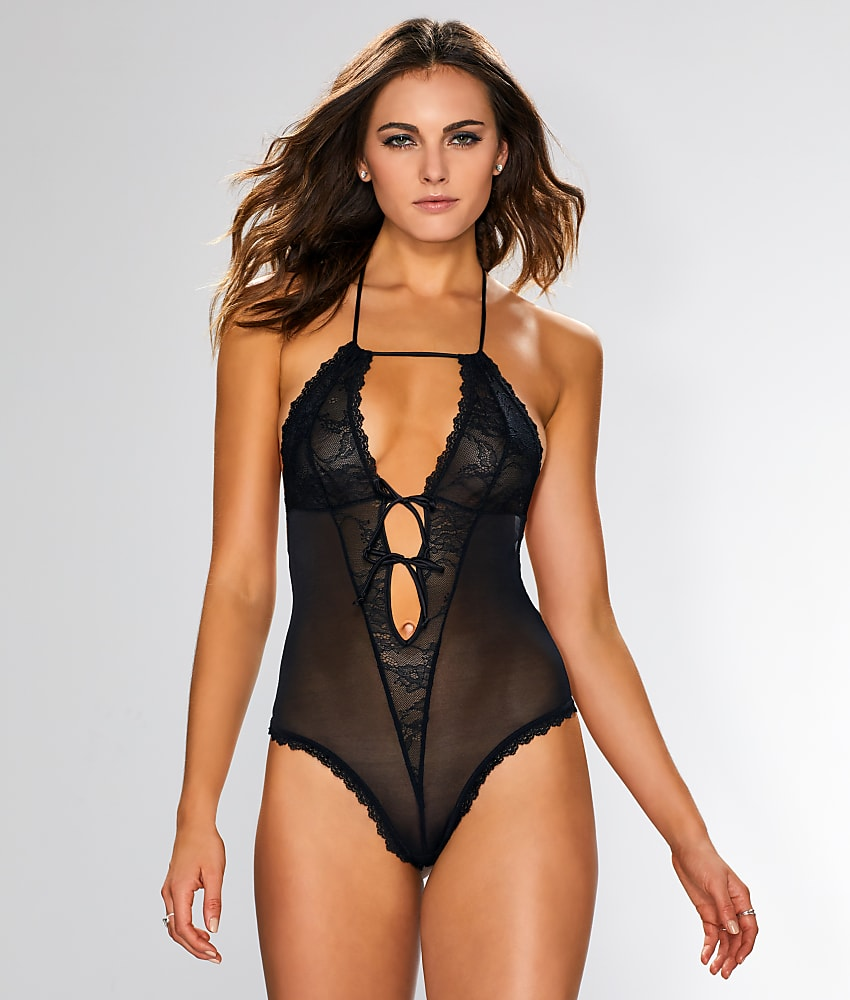 Contradiction All Tied Up Thong Bodysuit Lingerie - Women...