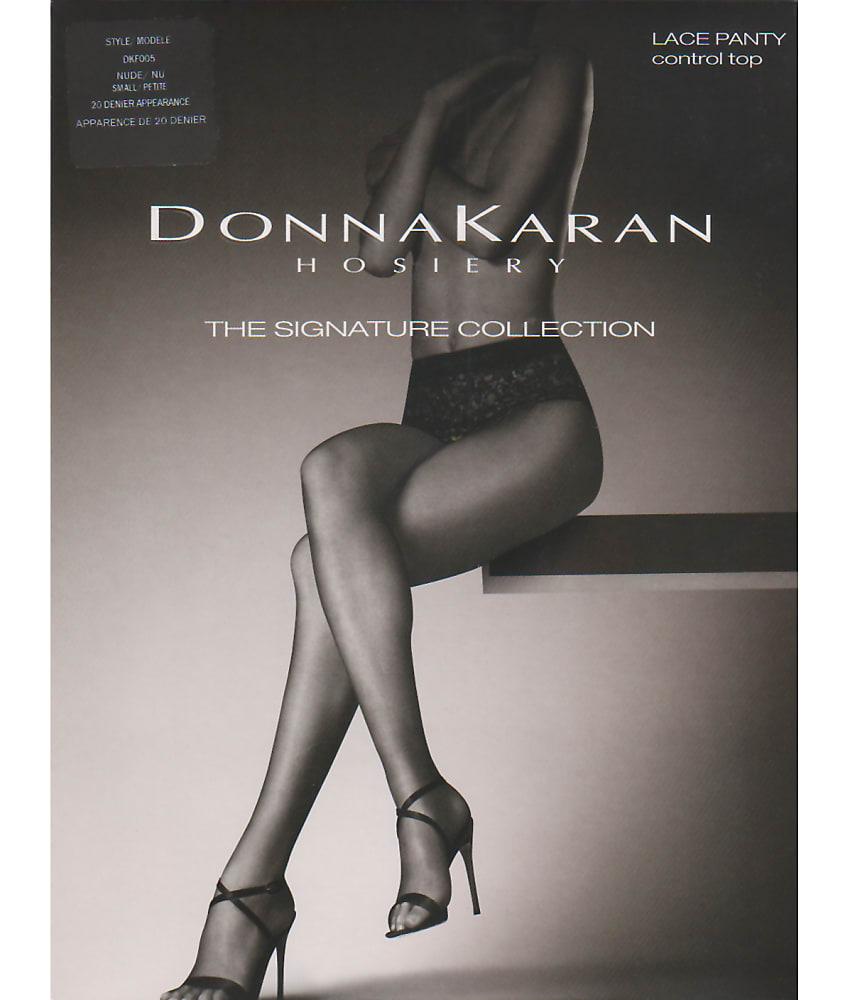 0a906ffef Donna Karan Dkf005 Signature Lace Panty Control Top M Black