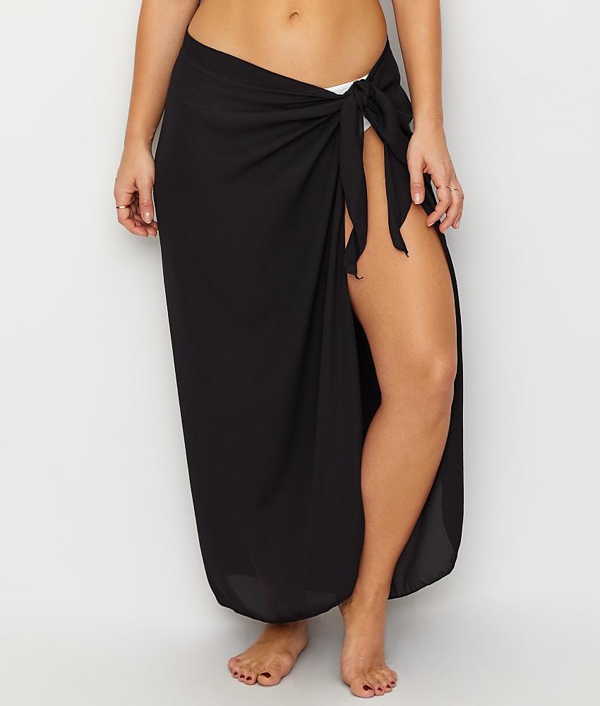 5581f69f02d2c Dotti Summer Solids Long Sarong Cover-Up - Women's Swimwear | eBay