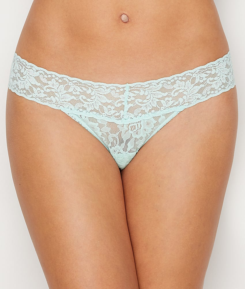 a3ab2be89a Hanky Panky Signature Lace Petite Low Rise Thong Panty - Women s