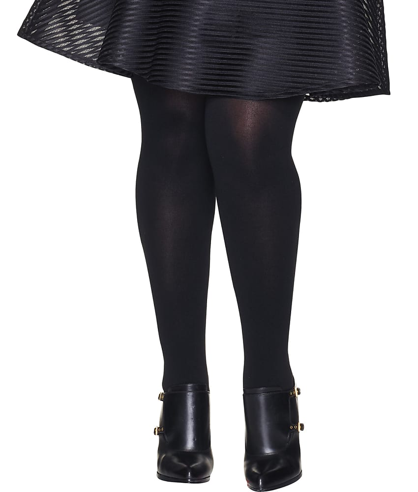 1ca3a1a0345 Hanes Plus Size Curves Blackout Tights Hosiery - Women s