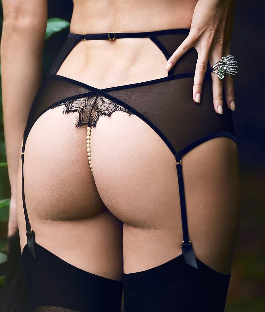 8939ed279b69 Bracli Kyoto Garter Thong Panty - Women's   eBay