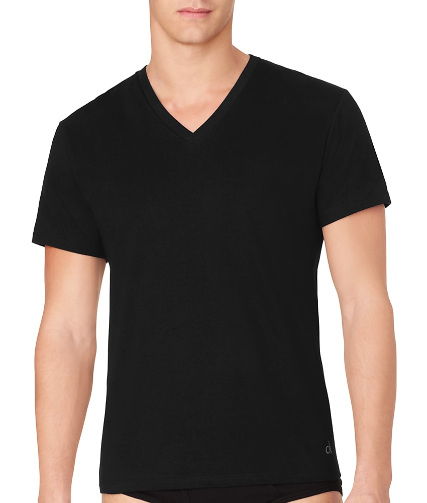details about calvin klein cotton t shirt 3 pack men 39 s. Black Bedroom Furniture Sets. Home Design Ideas