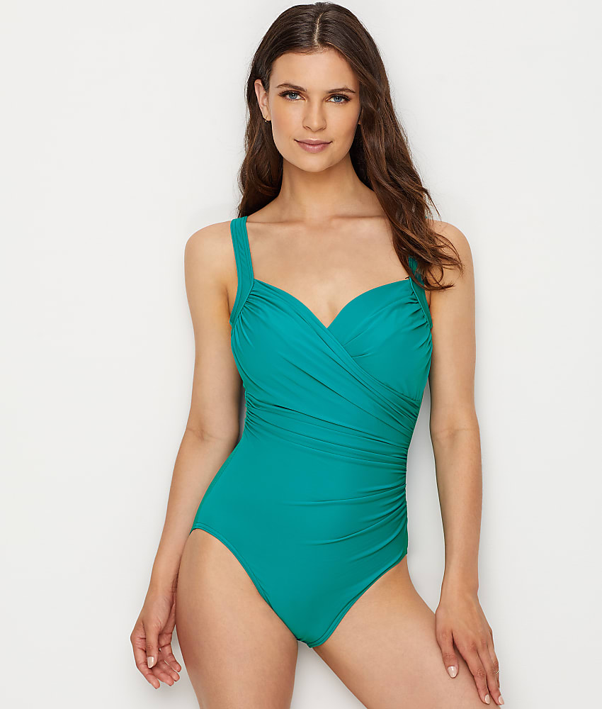 e29746a3f33 Miraclesuit Must Haves Sanibel Underwire One-Piece DD-Cups - Women s ...