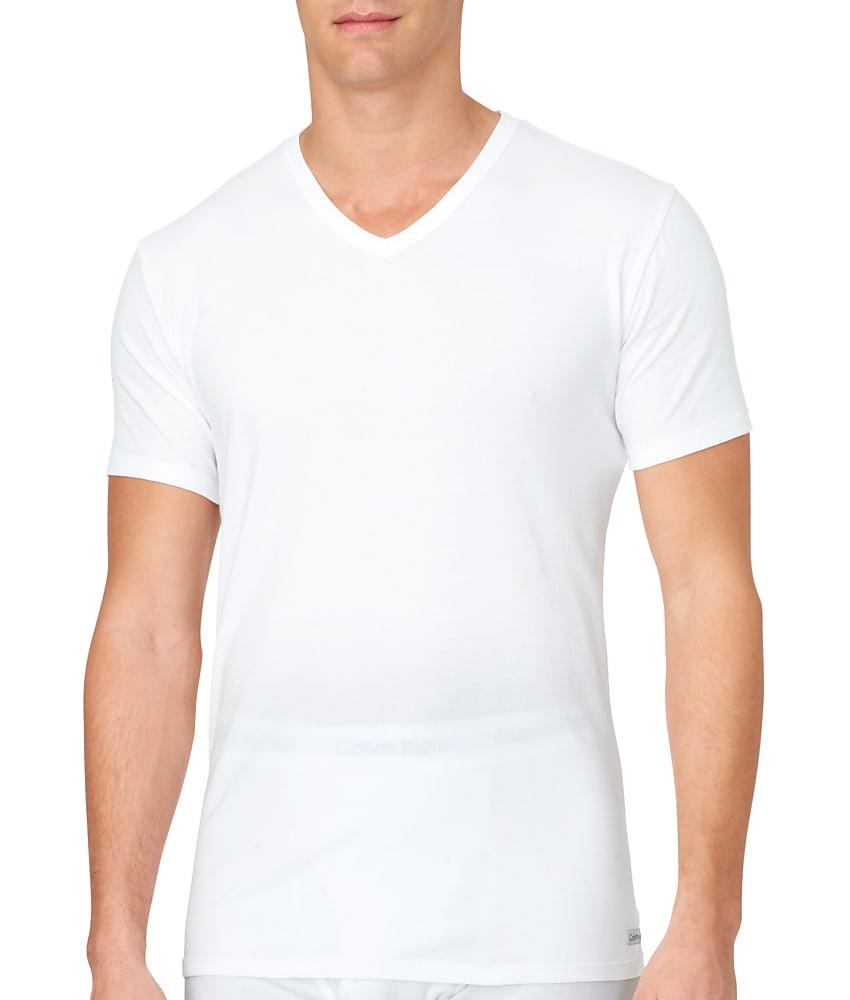 Calvin Klein Cotton Stretch T-Shirt 2-Pack - Men's