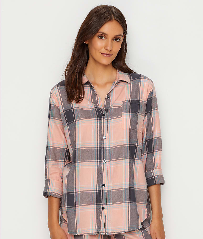 067abbce0865 P.J. Salvage Plaid Please Woven Pajama Top - Women's | eBay