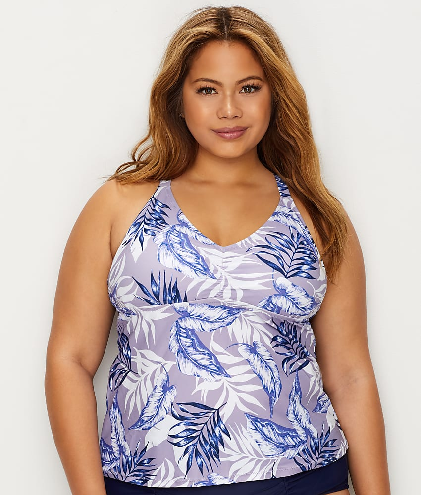 9eafc83c7d934 Raisins Curve Plus Size Pacifica Tankini Top - Women's Swimwear | eBay