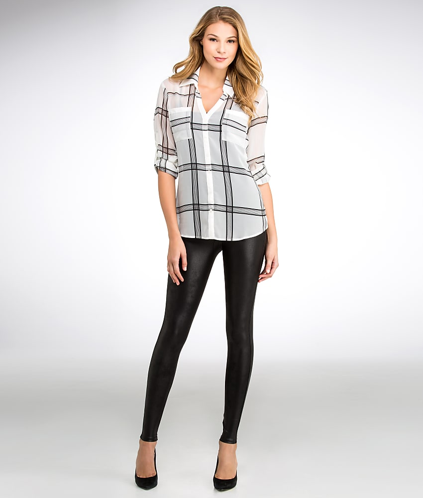 original spanx leather leggings outfits wear