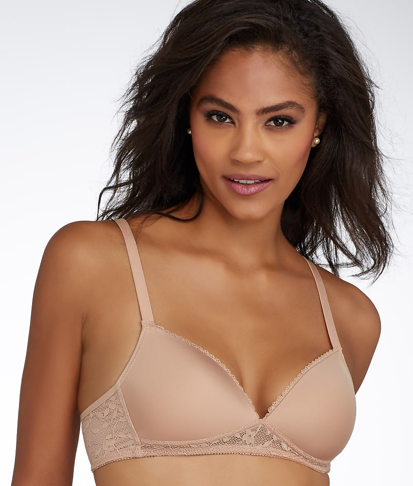 Triumph Endearing Lace Wire Free T Shirt Bra A B Cups