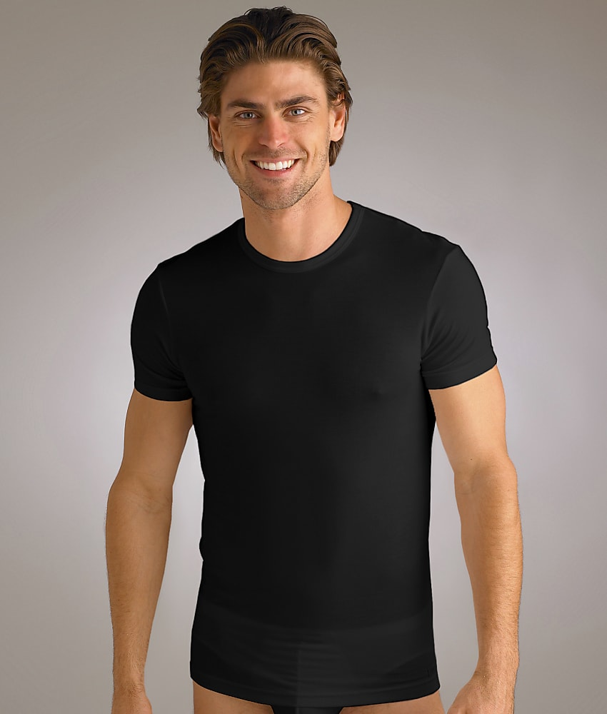 Calvin klein micro modal t shirt men 39 s ebay for Modal t shirts mens