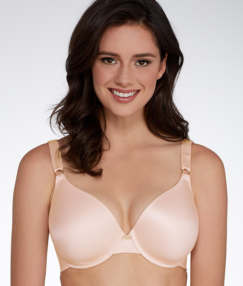 16934a202d446 Vanity Fair 75345 Beauty Back Full Coverage Underwire Bra 36 DD Champagne  36dd