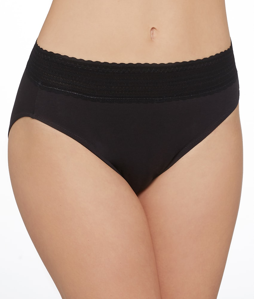 e6f4f7030 Warner s No Pinching. No Problems. Cotton Hi-Cut Brief Panty ...