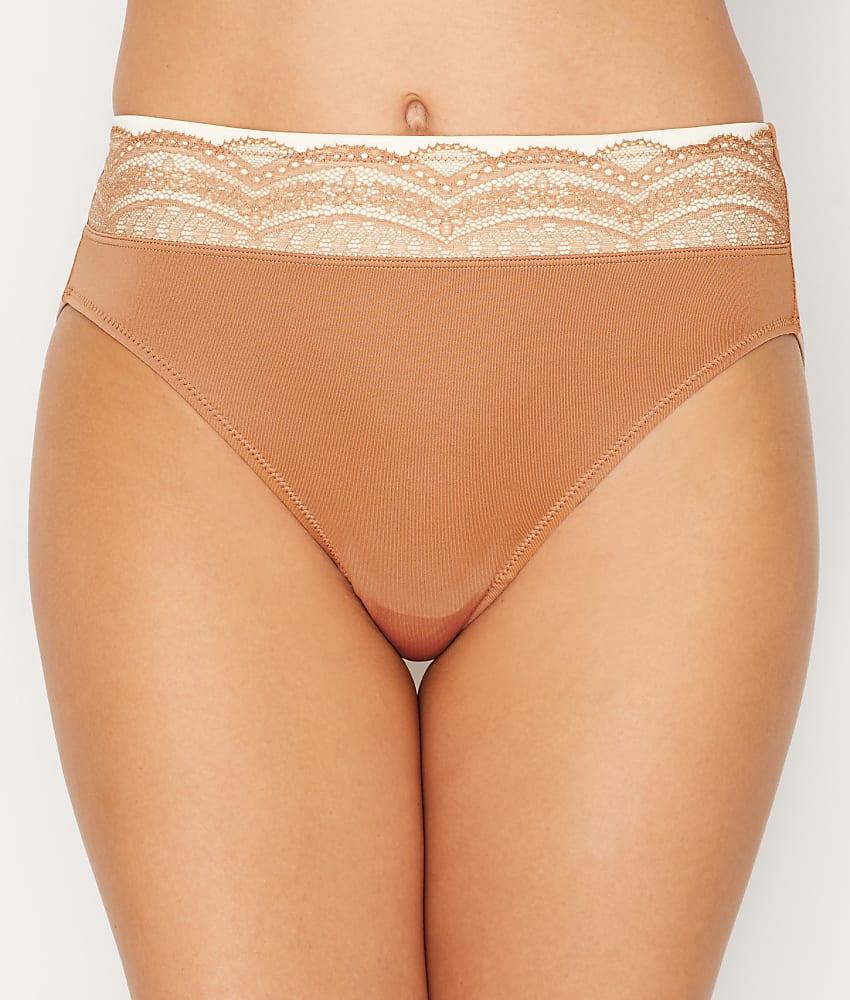 603aa3371 Warner s No Pinching. No Problems. Hi-Cut Microfiber Brief Panty - Women s