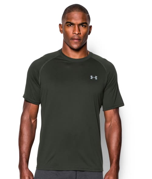 Under Armour M Artillery Green Tech T-Shirt 93R5U30