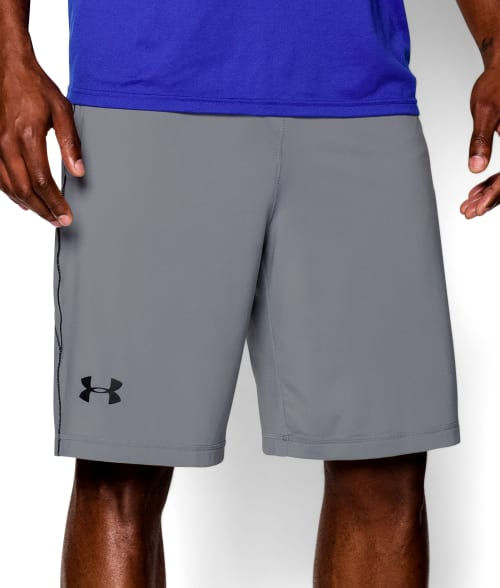 "Under Armour L Steel UA Raid 10"" Shorts 93N3340"