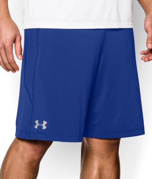 "Under Armour L Black UA Raid 10"" Shorts 93N3240"