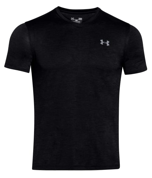 Under Armour L Black Tech T-Shirt 93DYU40