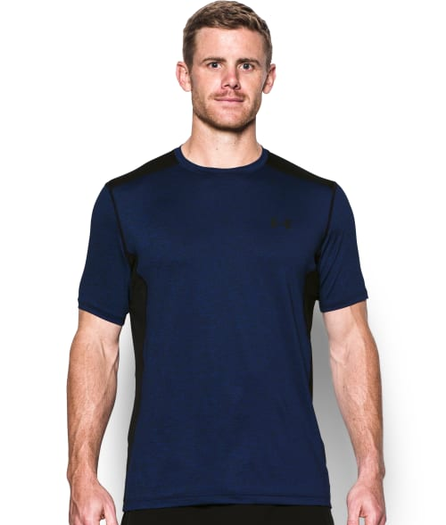 Under Armour L Black UA Raid T-Shirt 93PCB40
