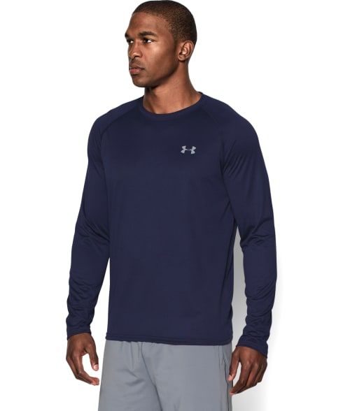 Under Armour XL Carbon Heather HeatGear I Will Tech T-Shirt 93PCO50