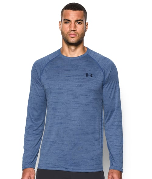 Under Armour XXL Black Men's UA Tech™ T-Shirt 93R5Q60