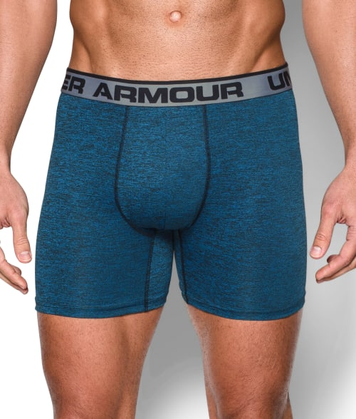 "Under Armour M Brilliant Blue The Original 6"" Boxerjock Boxer Brief 93WBI30"