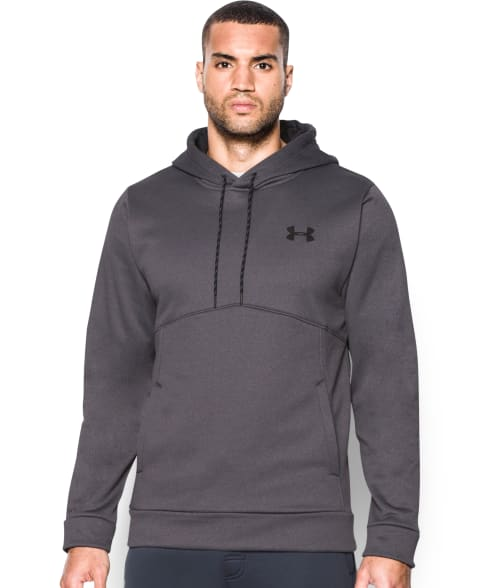 Under Armour XL Carbon Heather UA Storm Armour® Fleece Hoodie 93TIL50