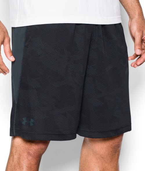Under Armour XL Black Raid Jaquard Shorts 93R5Z50